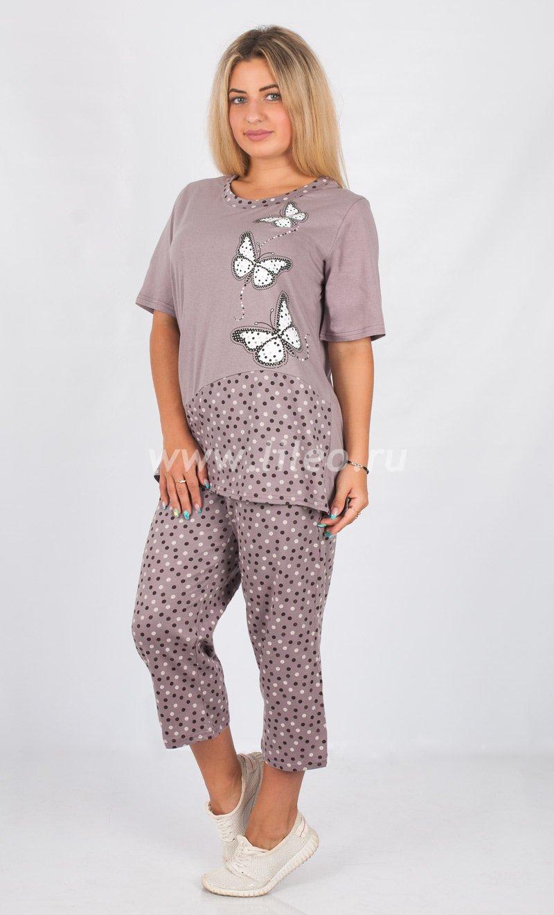 Пижама 03618, цвет - какао