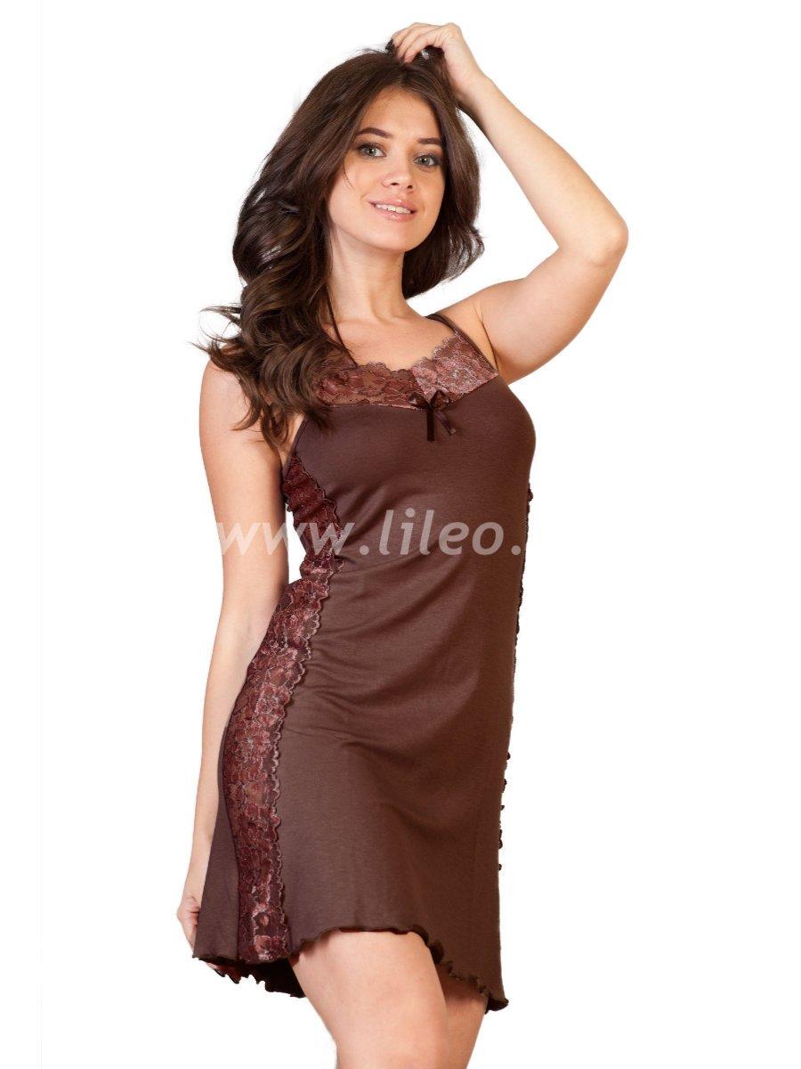 Ночная сорочка 03972, цвет - кофе