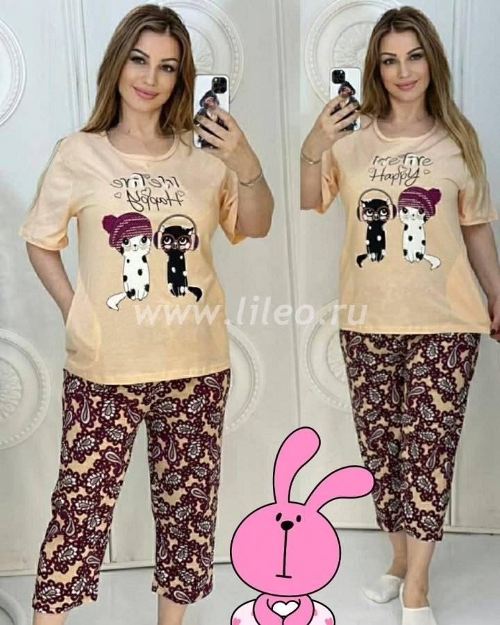 Пижама t-1127226O8D25ECB6, цвет - светло бежевый