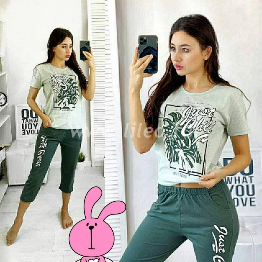 Пижама t-1127276O8D25ECB6, цвет - зеленый