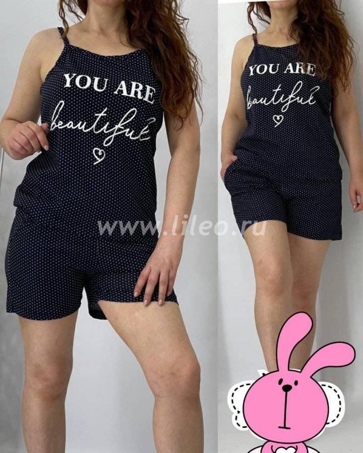 Пижама t-1127205O8D25ECB6, цвет - черно-белый
