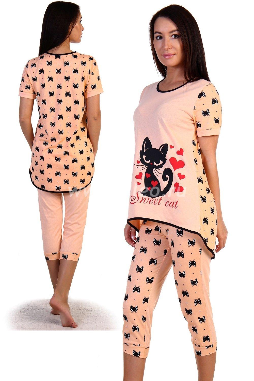 Пижама o-02061075584O8D25ECC0, цвет - персиковый