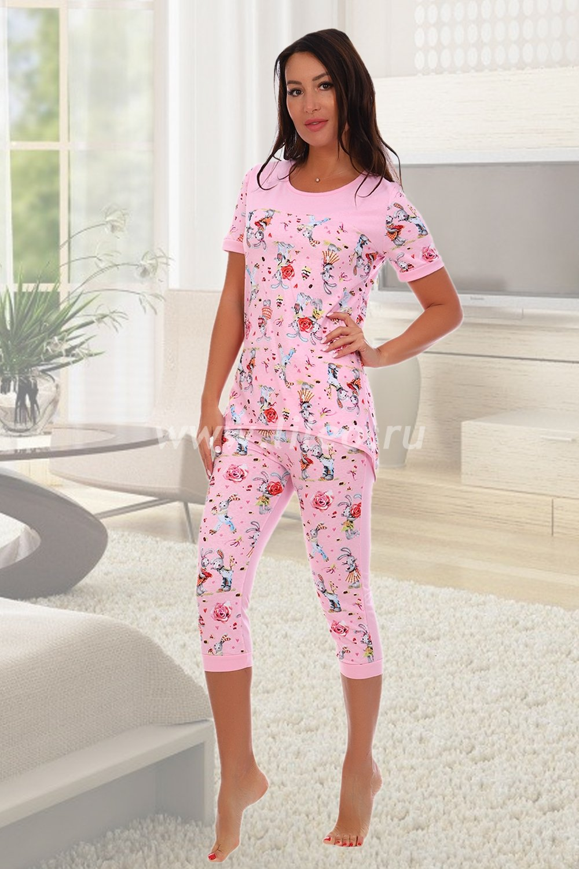 Пижама o-01156889709O8D25ECC0, цвет - розовый