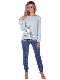 Пижама, Голубой
