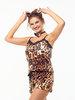 Пижама 04497, цвет - леопард