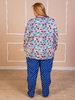 Пижама 04520, цвет - бело-синий